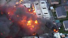 Heftige Explosion erschüttert Industriegebiet im Süden Englands