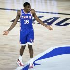 Sixers guard Shake Milton caught the eye of Dwight Howard in workouts