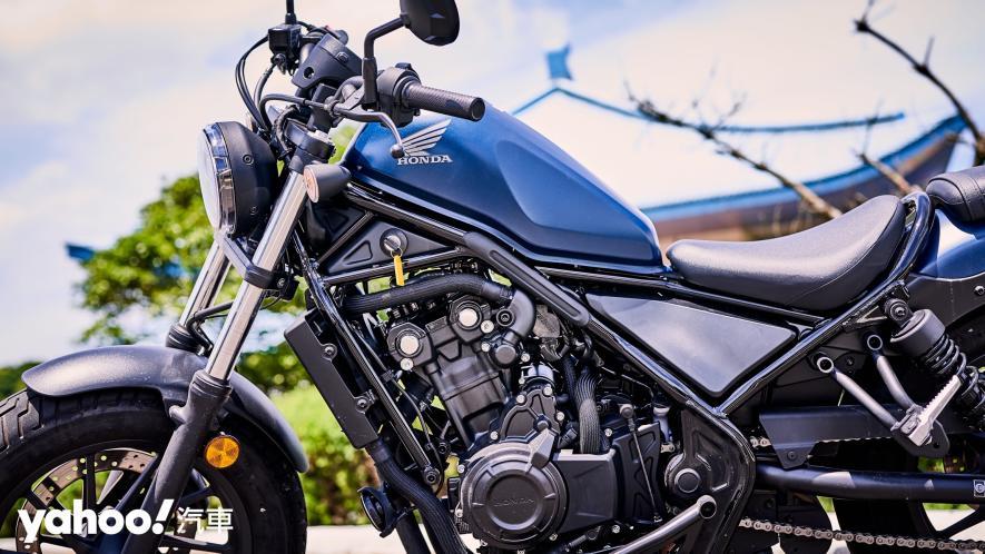展現難以置信的靈活輕鬆!2020 Honda日系美式車型Rebel 500新北山區試駕! - 11