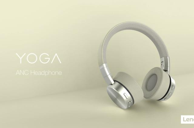 Lenovo's Yoga headphones are built for music, chat and voice control
