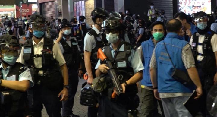 警:旺角沙田昨有36人違限聚令
