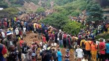 More than 50 killed at collapsed gold mine in eastern Congo