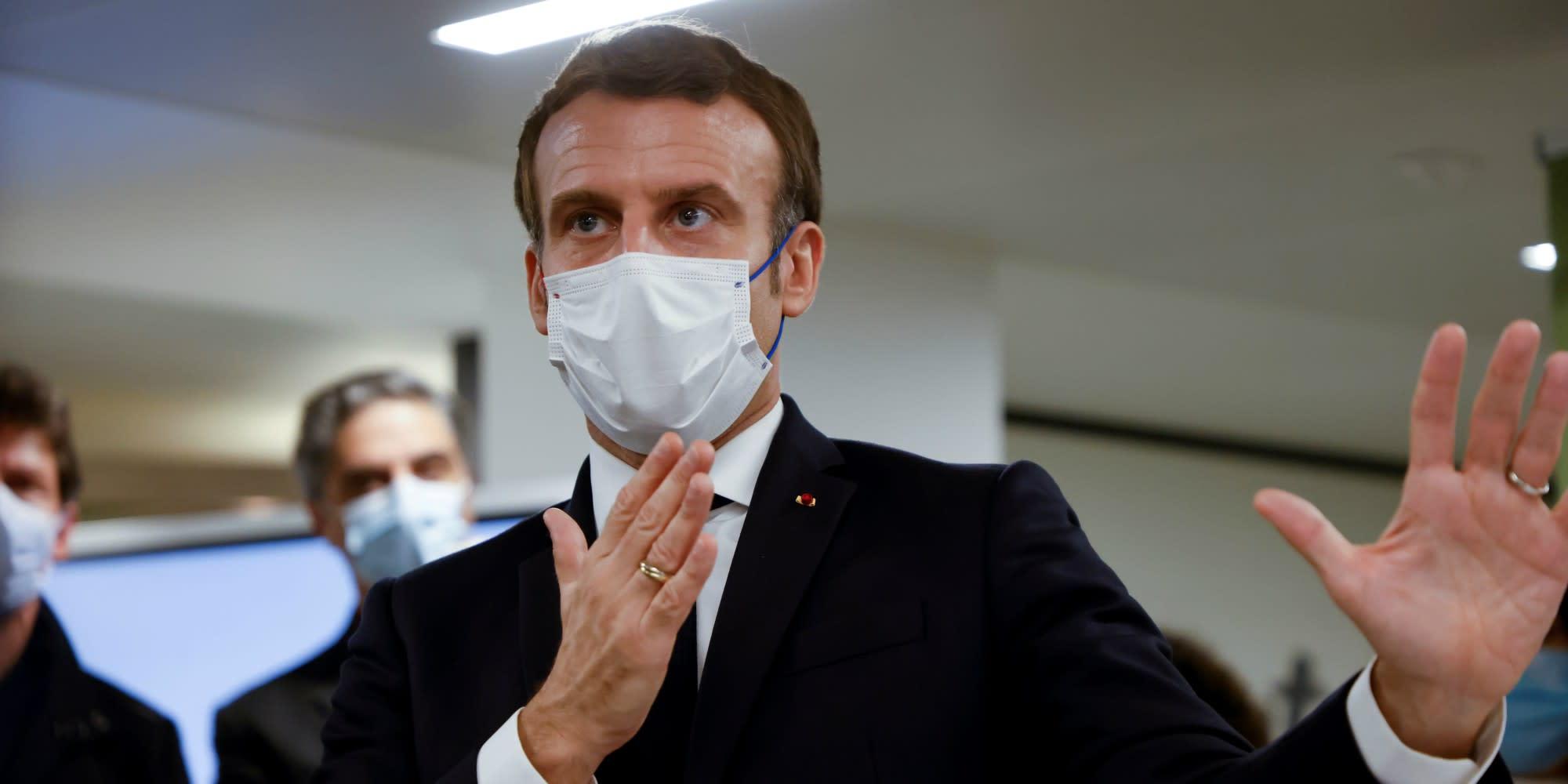 SONDAGES. La popularité moyenne de Macron au plus haut depuis 7 mois