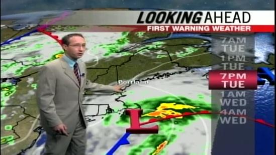 News 8 video forecast