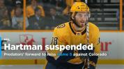 Predators' Ryan Hartman suspended one game for illegal check to head