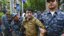 Armenia protests: 70 arrested, including 2 suspected bombers