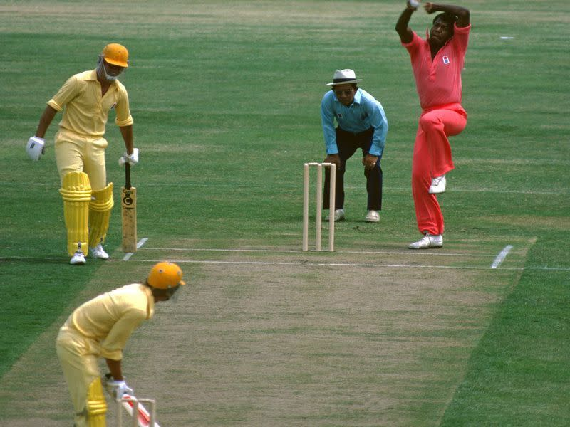 A still from one of the matches of World Series Cricket; Image Credits: Wisden
