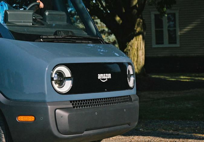Rivian's delivery truck for Amazon