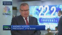 Ukraine has created 'artificial conflict' with Russia, VTB Bank chief says