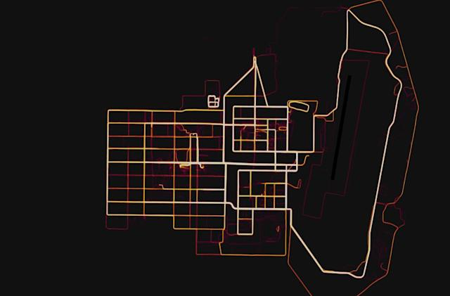 Strava fitness tracking data reveals details of secret bases