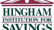 Hingham Savings Reports First Quarter 2021 Results