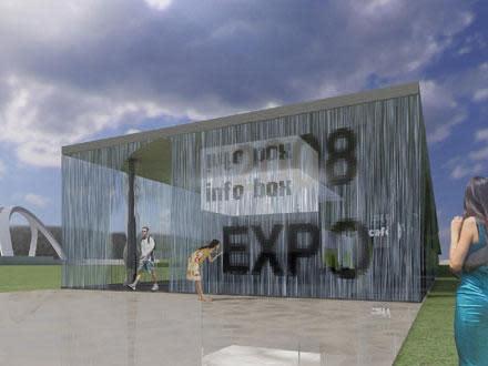 "Zaragoza World Expo to feature MIT-designed ""digital water"" walls"