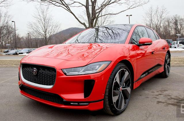 Jaguar's all-electric I-Pace is quick, agile and stylish