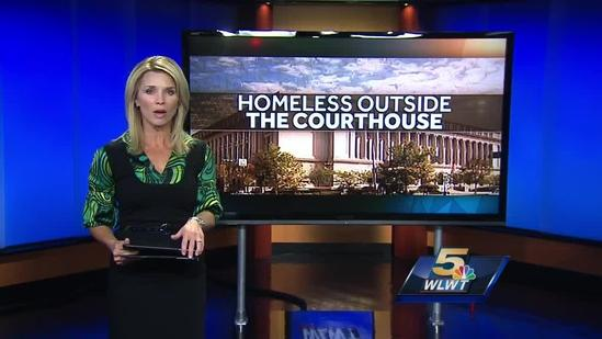 Deputies begin working on new homeless sleeping policy at courthouse