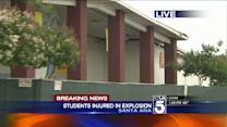 4 Students Hospitalized in High School Gas Explosion