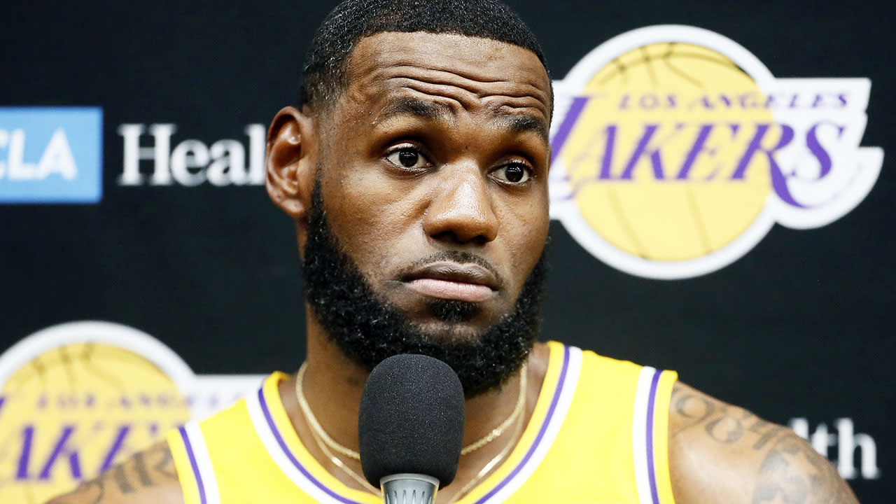 'Absolutely shameful': America erupts over LeBron James' 'garbage' China stance