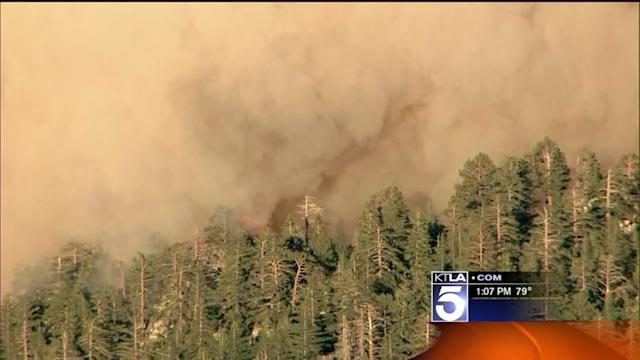 Mountain Fire Nears 25K Acres; Still 15% Contained