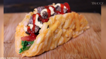 French fry burger taco is the snack we've been waiting for