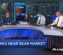 Banks are inching toward a bear market and it could be ab...