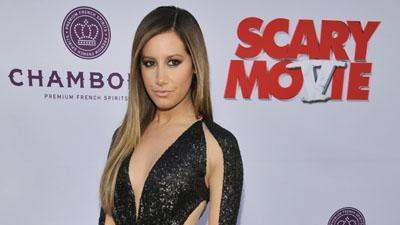 Tisdale Says 'Scary' Spoof Was Hard Work