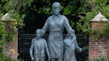 Royal fans baffled by detail in Princess Diana statue