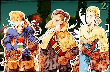 The heroes and damsels of Final Fantasy Tactics