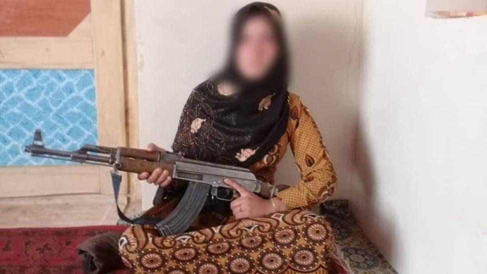 Taliban 'murdered' an Afghan girl's parents - so she shot their killers