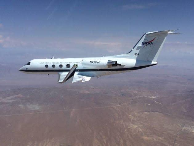 NASA's shape-shifting plane wings pass initial flight tests
