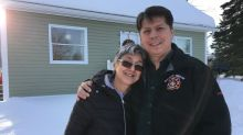 Jim Saunders didn't want his Aunt Sheila to leave Labrador, so he built her a place to live