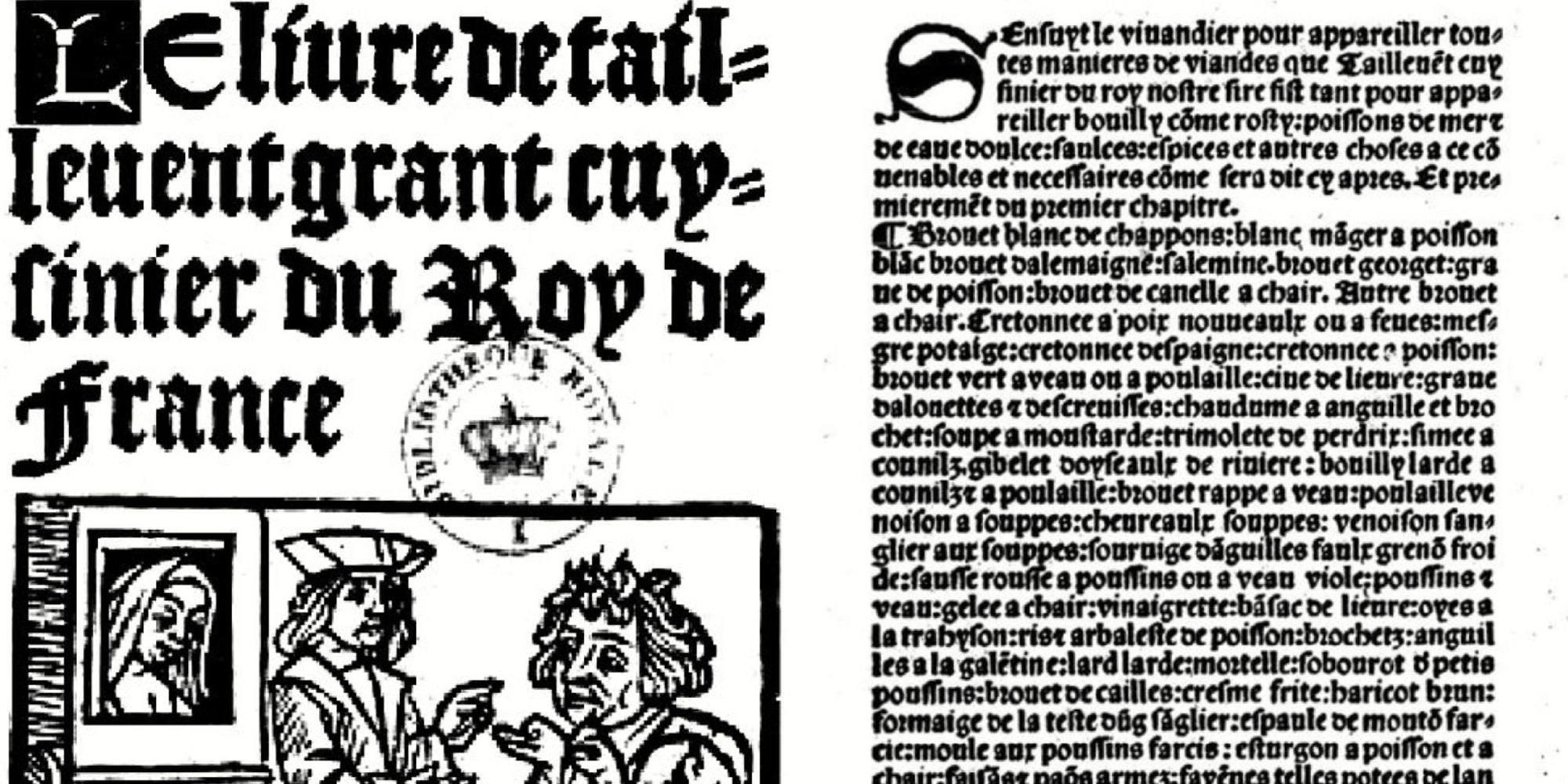 """""""Le Viandier"""", le plus vieux livre de recettes françaises au monde, est toujours d'actualité"""