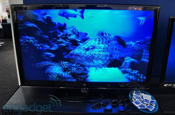 Westinghouse first 3D HDTV hands-on (video)