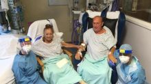 Couple married for six decades beat COVID-19 after nurses move them next to each other