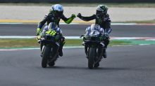 Vinales grabs second Misano pole with lap record