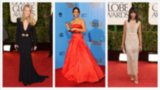 Jennifer Lawrence, Zooey Deschanel and More Golden Globes Beauty Looks