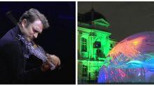 Renaud Capuçon et son violon imprimé en 3D enchantent le Jardin des plantes lors d'une performance exceptionnelle