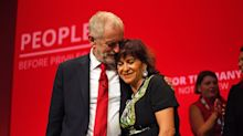 Jeremy Corbyn's wife says outgoing Labour leader was 'vilified'