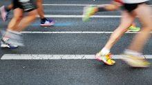 A Father and Son Wore Crocs to Run a Half-Marathon