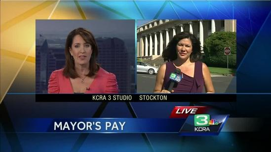 Stockton mayor under fire for taking a salary