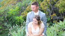 Newlyweds reunited with lost wedding photos after camera found washed ashore