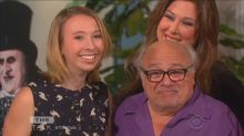 Teen who brought cardboard cutout of Danny DeVito to prom meets him in real life on 'The Talk'