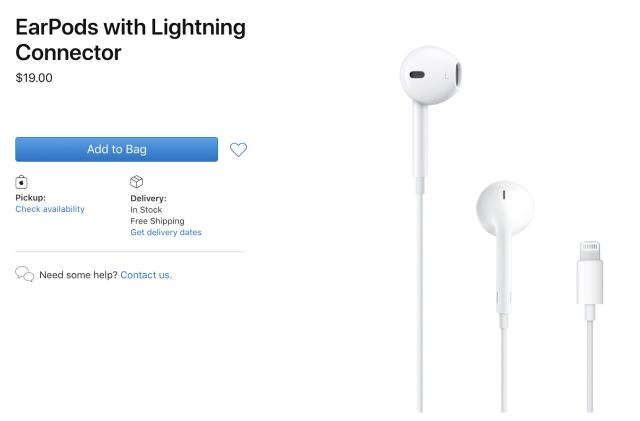 竞彩足球app官方版 cuts prices on EarPods and its iPhone power adapter by $10