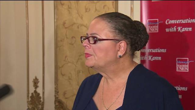 National Union Offers Karen Lewis $1M to Run for Mayor