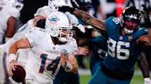 What was Ryan Fitzpatrick's most unique play in Dolphins 31-13 win?