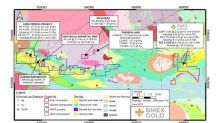BMEX Gold Intersects High-Grade up to 81.89 g/t Au over 0.45 Metres at King Tut