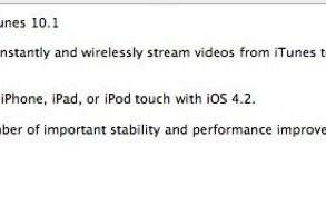 iTunes 10.1 live now, introduces AirPlay and iOS 4.2