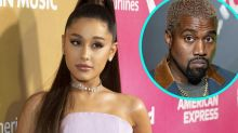 Ariana Grande Reacts After Kanye West Calls Her Out for Using His Feud with Drake to 'Promote' Her Music