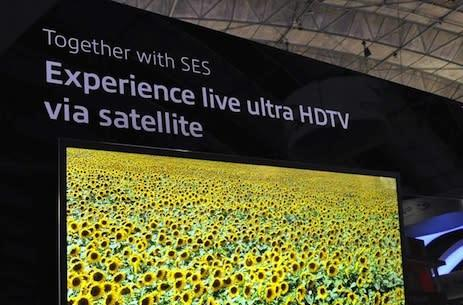 SES demos first Ultra HD transmission in more efficient HEVC standard