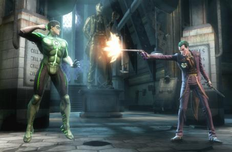 Joker and Green Lantern confirmed for Injustice: Gods Among Us [Update: Now with screenshot]