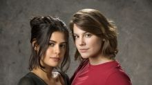 Rivais? Só na TV! Julia Dalavia e Alice Wegmann torcem pela redenção de Dalila