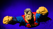 Everything is awesome! Lego superhero exhibition creates DC Comics characters out of bricks